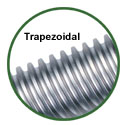 trapezoidal screw