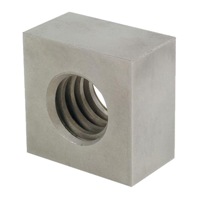 steel nut square