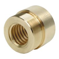 bronze threaded nut